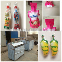 Flavored Fruit Drink Packing Machine For