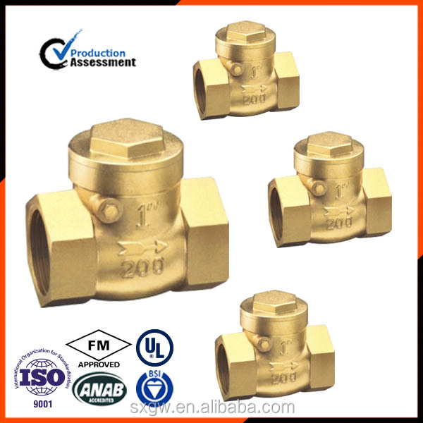 standard flap cw617n check valve with high quality