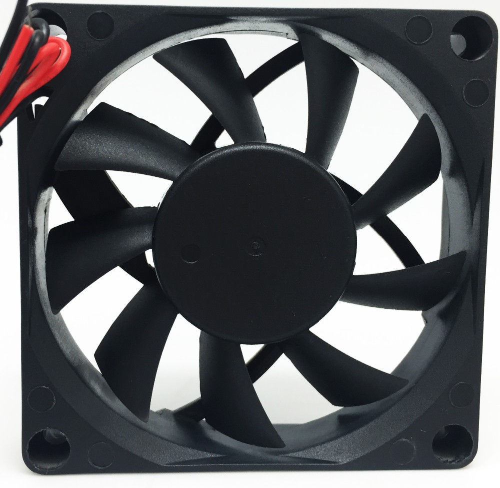 DC12V 0.50A 8025 8CM 80mm 80x80x25mm 4Pin 4Wire Cooling Fan