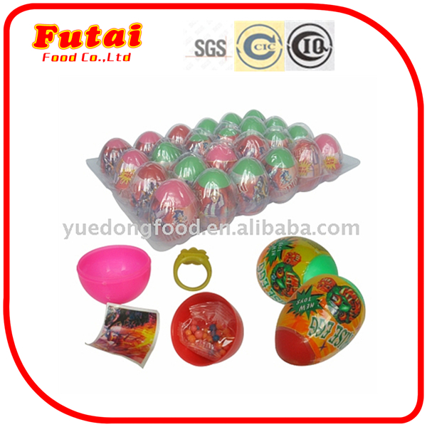3g Tray packaging surprise toy egg candy