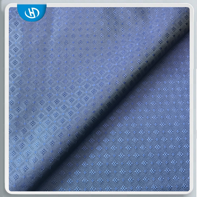 Fashion high quality jacquard cationic polyester fabric