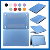 C&T Hard PC Case Crystal Surface Protective Shell Flannel Sleeve Case Cover for Macbook Pro 13 inch