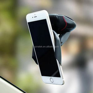 2018 New Arrival Universal 360 degree strong suction car mobile phone holder windshield dashboard mount Stand for ios android
