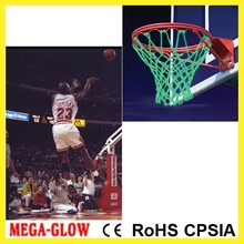 Wholesale cheap light up Basketball net standard size Basketball net basketball hoop glow in dark