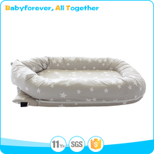 Portable Toddler 100% Cotton baby sleep nest/baby lounger