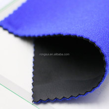 Factory Price High Quality Customized Fabric sbr rubber sheet with 3 Layers laminated