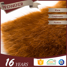 Product Warranty Super Soft Brown Little Fur With Long And Short Hair faux fur fabric