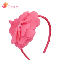 2018 Fashional fabric plastic velvet make kids lace headband with best quality