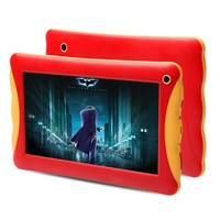 New Product for 2015 RAM 1GB ROM 8GB dual camera android 4.4 RK3126 Quad Core 7 inch kids tablet case with handle