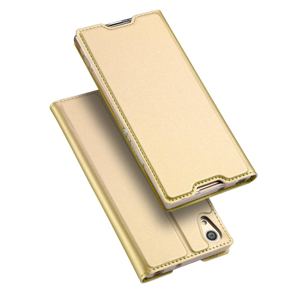 For Sony Xperia XA1 DUX DUCIS PU Leather Wallet Phone Case Skin pro Texture Kickstand Case MT-6417