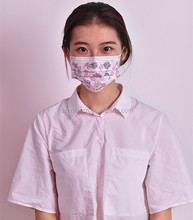 Funny Face Custom Printed Disposable PP Nonwoven Surgical Face Mask
