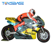 Riding A Motorcycle 1:5 Scale Gas Powered Rc Car Toy