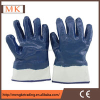 wholesale high quality blue liquid nitrile gloves