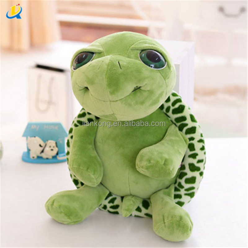 Top quality Wholesale Green Tortoise Plush Toy , Turtle soft stuffed plush toy