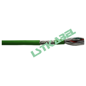 PUR Sheath TPE Insulated High Flexible AWM Multi-axis Robotic Shielded Cable