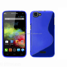 for wiko rainbow blue s line case tpu case high quality factory price