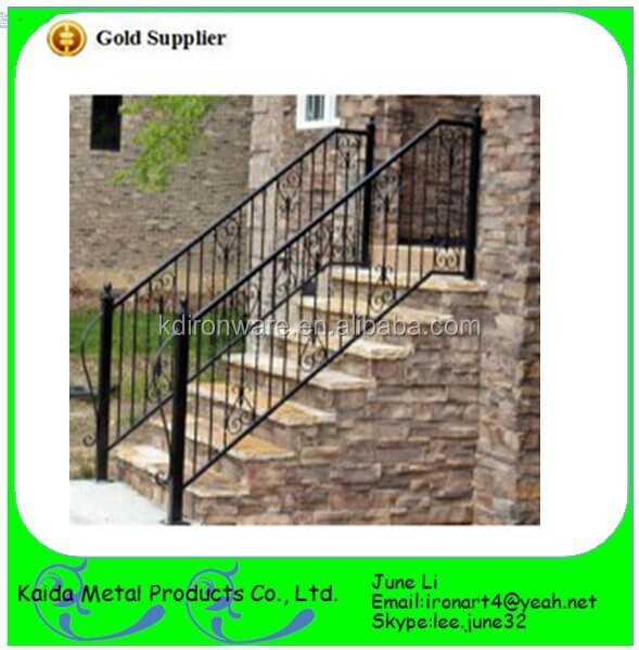 best removable stair handrail new design