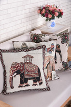 ribbon embroidery blank cushion covers 40*40 pillow case