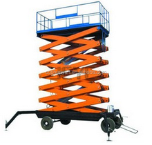 SJY series new design portable 6-18 m mobile hydraulic scissor lift