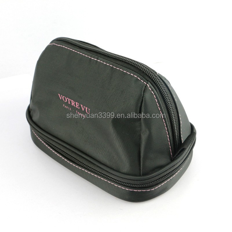 Custom Makeup Travel Canvas makeup bags cosmetic bags ,Canvas make up brushes bag, toiletry bag