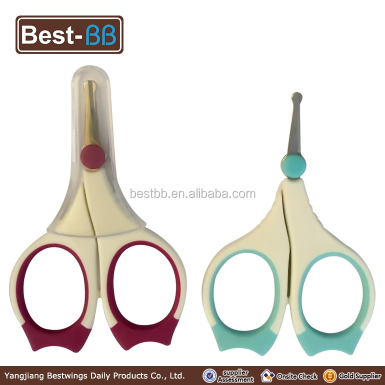Manufacturer supply baby kids safety scissors