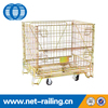 Industrial collapsible pet preform wire cage