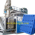 HDPE blow molded plastic pallet machine