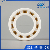 Top quality ceramic bearings 6002CE with peek material cage use for machinery