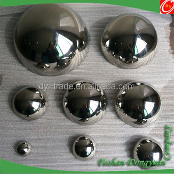 SS304 316 201 42mm Mirror Polished Stainless Steel Ball/Whole Ball/Half Ball