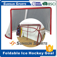 Professional Ice Hockey Goal from factory/Stackable/Foldable Hockey Goals Producer