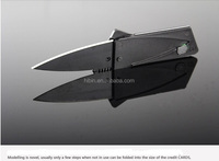 Lain Sinclair Cardsharp 2 Wallet Folding Safety Knife Credit Card Mini Pocket Tactical Rescue Razor Sharp Blade HB9103
