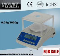 1000g/0.01g digital electronic balance with ACCU
