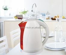 german electrical appliances automatic shut-off 1.7l with led light color change plastic best electric kettles KP17B