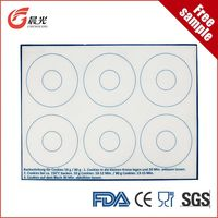 silicone baking anti-slip mat buns and breads silicone baking mat manufacturer