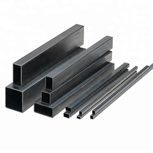 Alibaba gold supplier Black square welded steel pipe/tube 8/pipa hollow section for building material