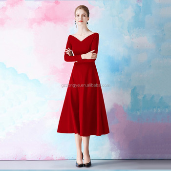 Custom New Style Fashion Dresses Women Lady Female long Sleeve Design dress
