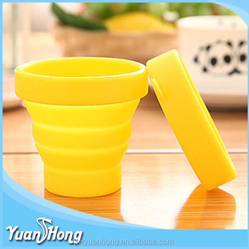 Fatory product eco-friendly silicone soft foldable drink <strong>cup</strong> hot selling in webist