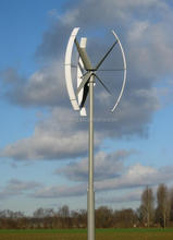 domestic vertical axis wind generator