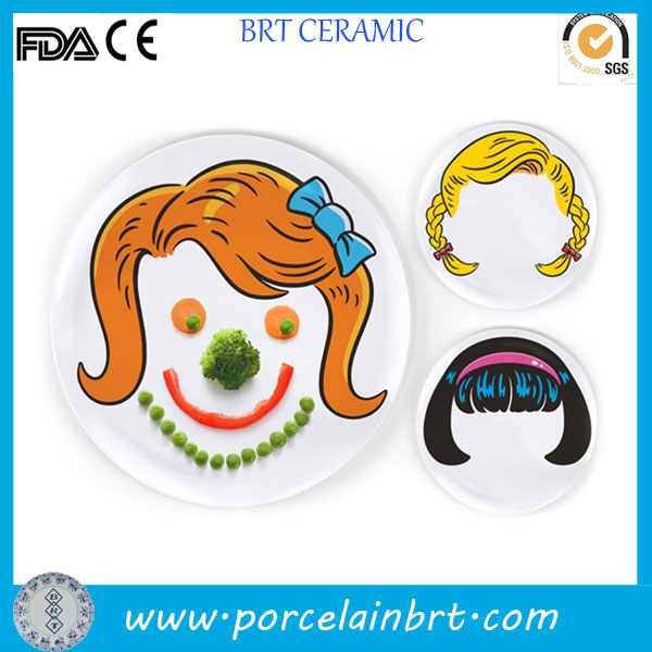 Chinese novelty decoration food Face Plate