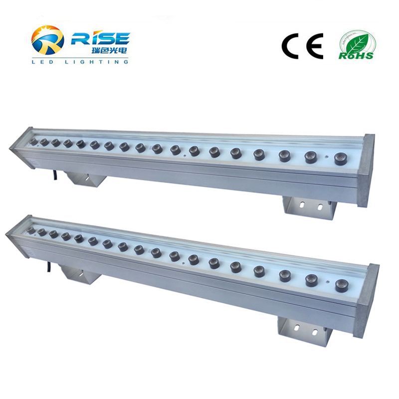 2016 exterior building color changing dmx rgb IP65 90W led strip led wall washer light