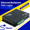 Temperature Humidity Multipoint Ethernet rf controller data logger for flow meter