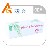pvc material and stretch film type soft pvc food cling film