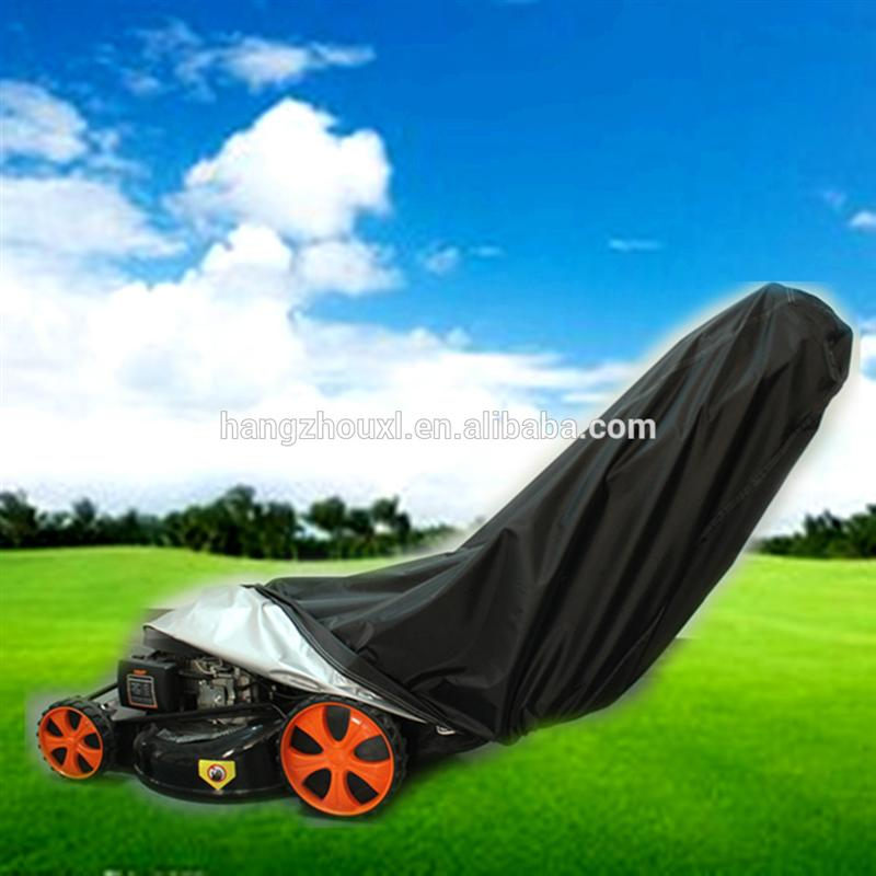Hot selling remote control lawn mower cover/lawn mower tractor cover with low price with free samples