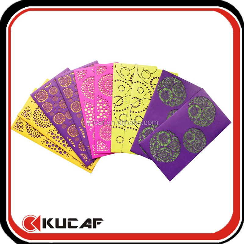 Custom Laser Die Cut Paper Envelopes For Chinese New Year