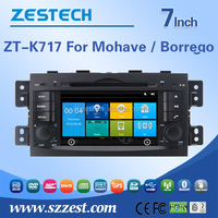 Special OEM car dvd gps touch screen car dvd for KIA Borrego/Mohave car dvd radio gps navigation cd tv bt HDMI TPMS OBD