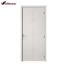 High Quality White Lacquer Finished Wood Room Door/Gate