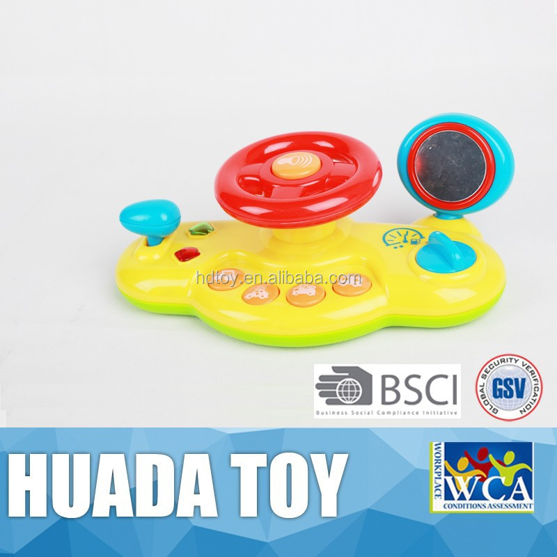 Cute baby toy/musical wheel toy/funny kids toy steering wheels