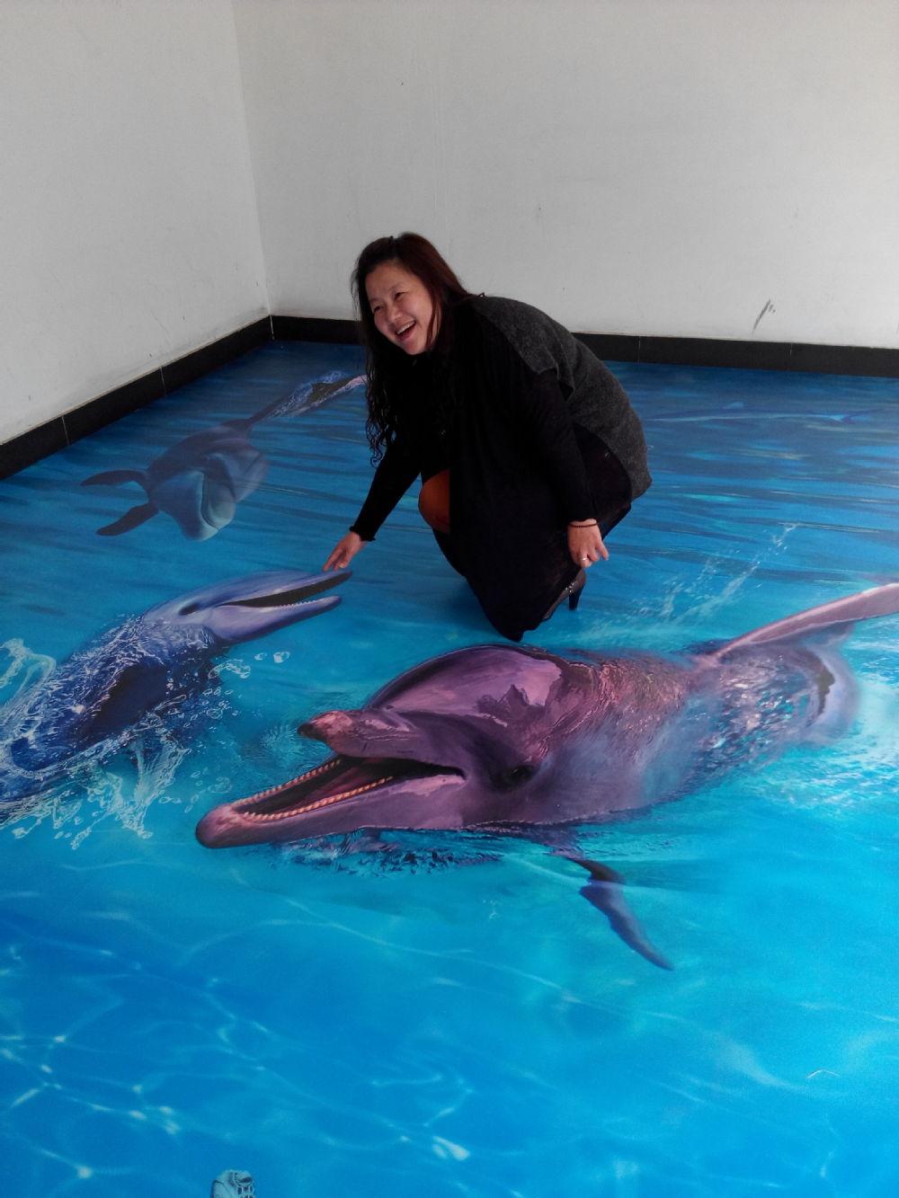Pvc 3d printed painting floor mat price buy 3d flooring for 3d pvc wallpaper