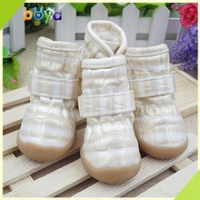 High quality silicone rubber waterproof dog boots