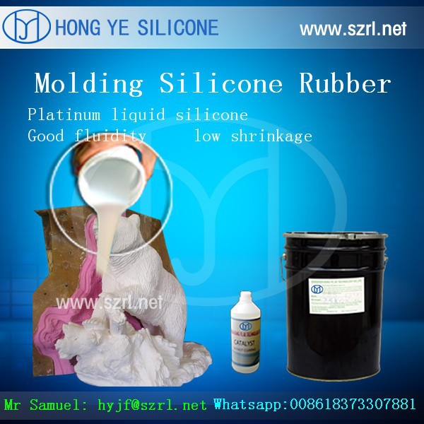 rtv 2 gypsum molding silicone rubber for plaster ornaments statues and sculptures